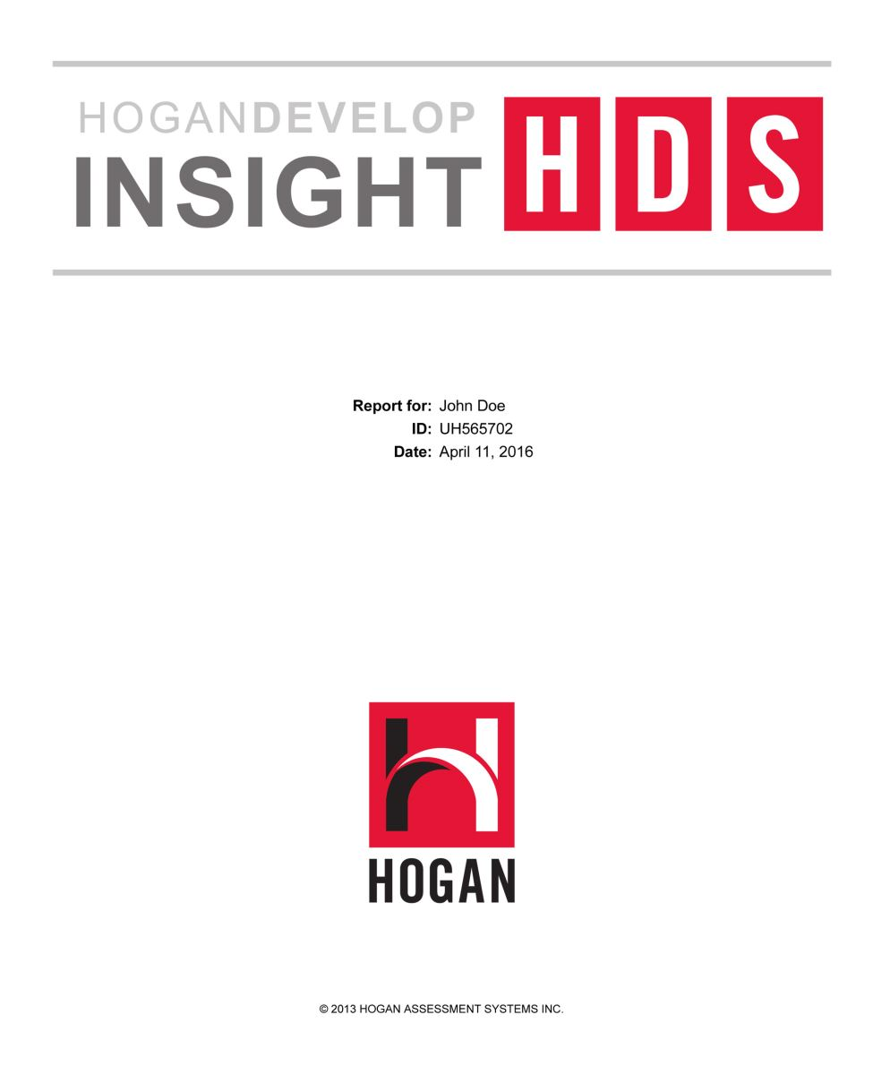 HDS insight report